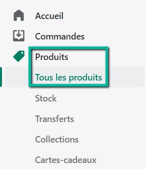 Tutoriel SEO pour Shopify : produits